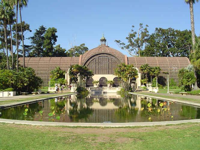 The Gardens Of Balboa Park San Diego California