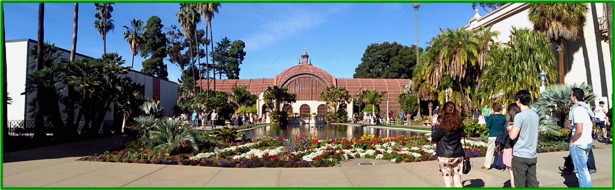 Balboa Park Botanical Garden And Pond