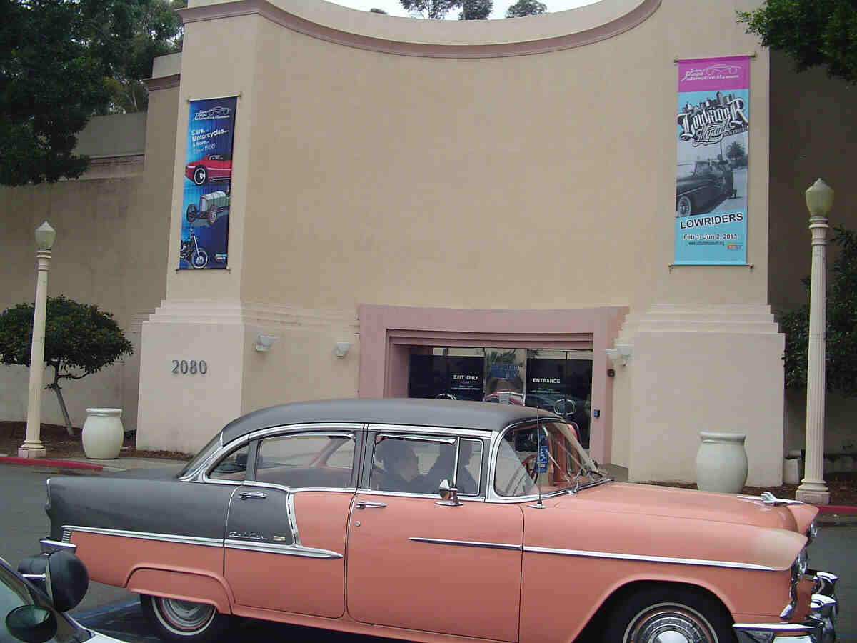 Automotive museum in balboa park san diego for Us motors san diego