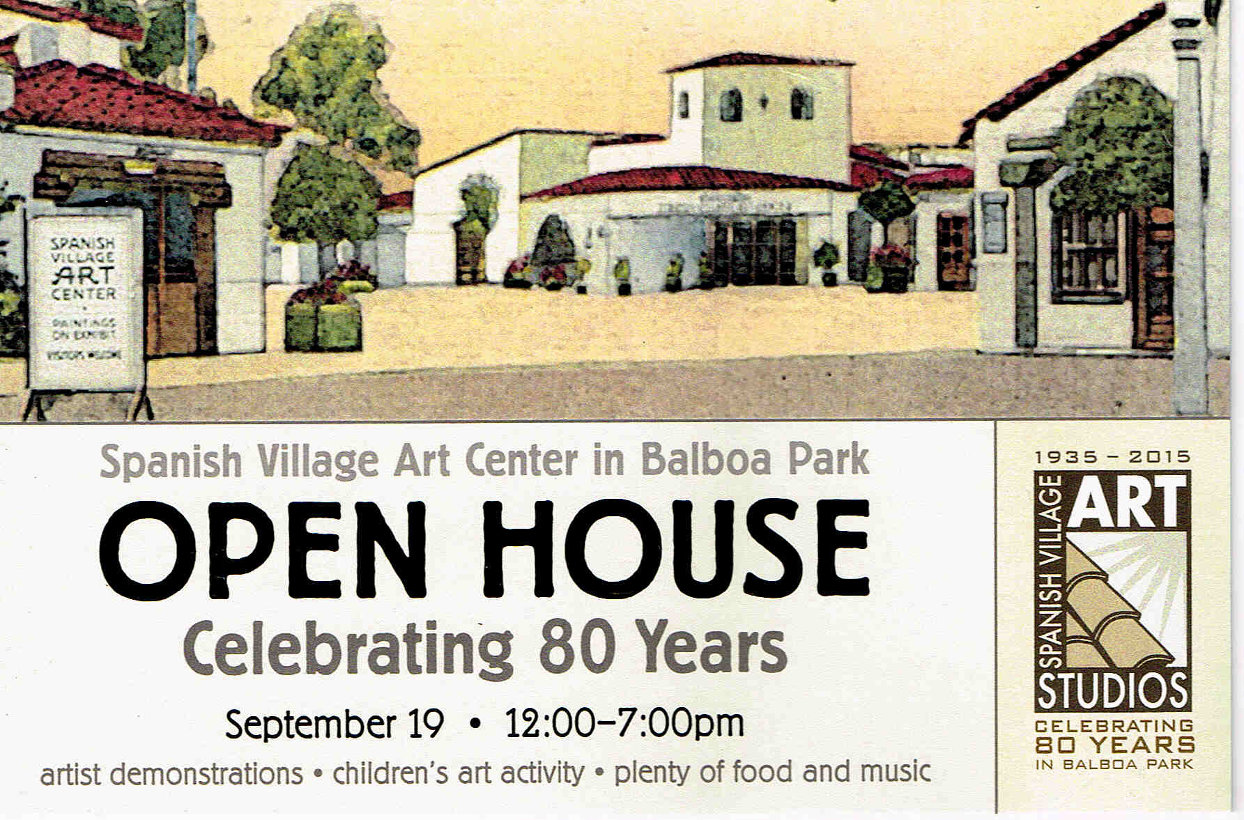 Spanish village art center balboa park san diego ca for Open house spain